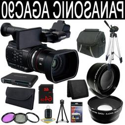 Panasonic AG-AC90 AVCCAM Handheld Camcorder + 64GB SDXC Clas