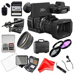 Panasonic HC-X1000 Camcorder with Fisheye Lens + 64GB Card +