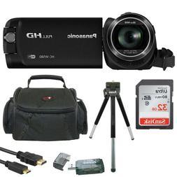 Panasonic HC-W580K Full HD 1080p Camcorder w/Twin Camera & 3