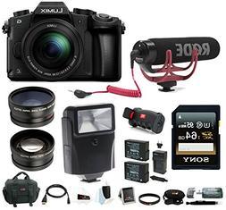 Panasonic LUMIX DMC-G85MK 4K Mirrorless Lens Camera Kit, 12-