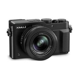 Panasonic Lumix DMC-LX100 Digital Point  Shoot Camera, Black