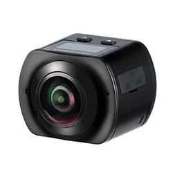 HiCool 360° Panoramic 16MP VR Action Camera 2448x2448 30fps