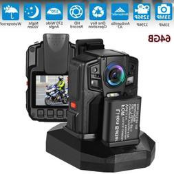 PD50 32GB Body Worn Camera HD1296P Camcorder DVR Mini 150°