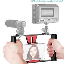 Phone Video Rig Handheld Grip Stabilizer Filmmaking Recordin