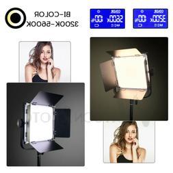 Photo Studio Adjustable Dimmable Bi-color LED Video Lights f