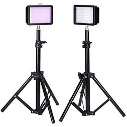 Bestlight® Photography 160 LED Studio Lighting Kit, includi