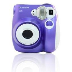Polaroid PIC 300 Purple Instant Camera