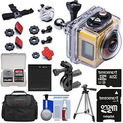 Kodak PixPro SP360 Wi-Fi HD Video Action Camera Camcorder -