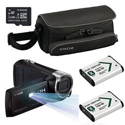 Sony PJ275 Full HD Projector Camcorder Bundle with 27x Optic