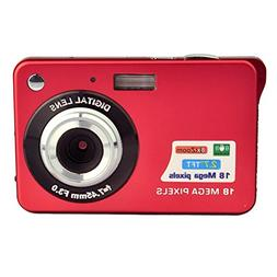 PowerLead PL2802 2.7inch 18MP Mini Digital Camera 8x Digital