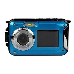 PowerLead PLDH20 Double Screens Waterproof Digital Camera 2.
