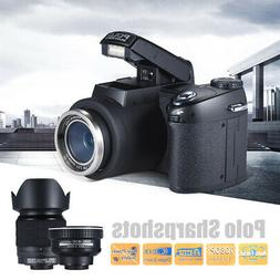 POLO D7100 ULTRA 24X HD 1080P ZOOM LED Digital Camera Photo