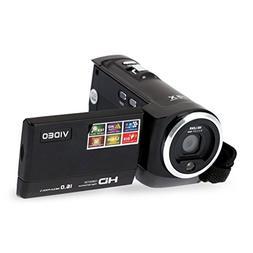 ODGear Portable Digital Video Camcorder HD 720P Max 16 MP 2.
