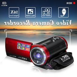Portable HD 16X Digital Video Camera DV Camcorder 16MP Zoom