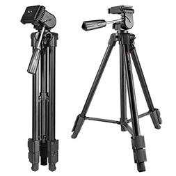"Portable Lightweight Camera Tripod, Papaler VT-910 57""/145cm"