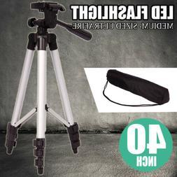 Portable Tripod 360° Swivel Fluid Head for Canon Nikon Digi