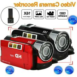 "Pro Full HD 1080P 2.7"" LCD TFT 16MP Digital Video Camera Cam"
