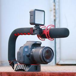 Pro Stabilizer U-Shape Bracket Video Handheld Grip for Gopro