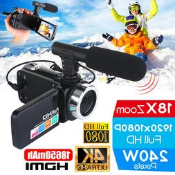 Professional 4K HD <font><b>Camcorder</b></font> Video Camer