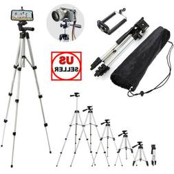 Professional Camera Tripod Stand + Phone Holder For Smartpho