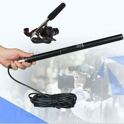 Professional Condenser Shotgun Microphone Mic For DSLR Camer