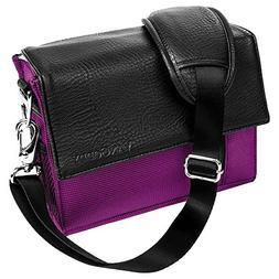 Purple Besteker Portable Digital Video Camcorder Case Should