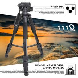 "63"" Universal Professional DSLR Camera Travel Tripod Pan Hea"