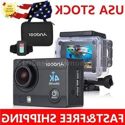 Andoer Q3H-R WiFi 4K 16MP 170° Sports Action Video Camera C