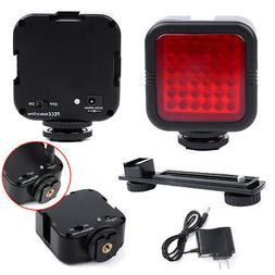 Rechargeable 36 LED IR Infrared Vision Night Light +Bracket+