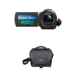 Sony 4K HD Video Recording FDRAX33 Handycam Camcorder with C