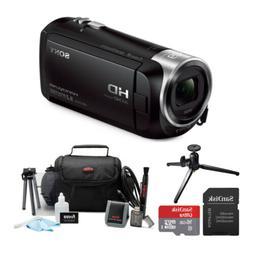 Sony HDRCX405 Handycam HD Camcorder with 16GB microSD Card a