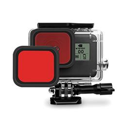 2 PCS Red Filter iTrunk Compatible for GoPro Hero 7 Black  /
