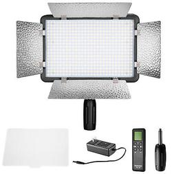 Neewer Remote Control 500 LED Dimmable Video Light with Diff