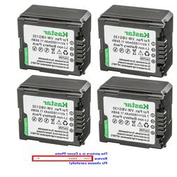 Kastar Replacement Battery for Panasonic VW-VBG130 PV-GS80 P