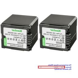 replacement battery for panasonic vw vbg260 sdr