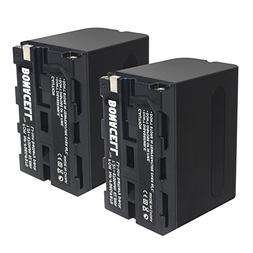 Bonacell 8700mAh 2 Pack Replacement Sony NP-F970 NP-F960 NP-