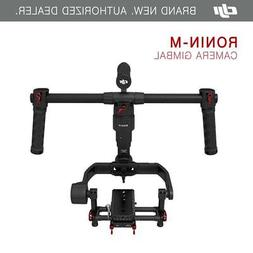 DJI Ronin M 3-Axis Brushless Gimbal Stabilizer with 2 Batter