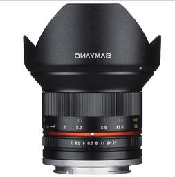 Samyang 12mm F2.0 NCS CS Nano MC APSC Angle Lens for Sony-E
