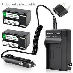 ab06eff558c2 Kastar SB-LSM160 Battery + Charger for Samsung SB-LSM80, SB