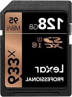 Lexar Professional 128 GB SDXC - Class 10/UHS-I  - 95 MB/s R