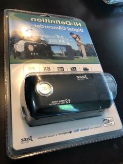 Sealed New Jazz HDV180 Camcorder -  Black 12 MP HD 2.4 Scree
