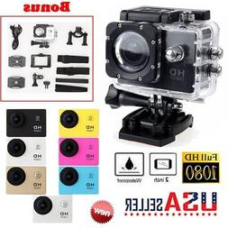 SJ4000 Underwater Camera 12MP 30M Waterproof Sports Action C