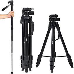 Albott 70 Inch Digital SLR Camera Aluminum Travel Portable T