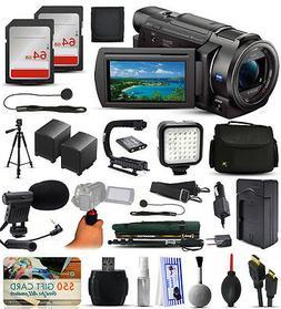 Sony FDR-AX33 4K Ultra HD Handycam Camcorder with 64GB Memor