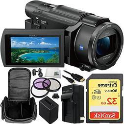 Sony FDR-AXP55  4K Ultra HD Handycam Camcorder with 32GB Bun