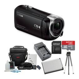 Sony HDR-CX405/B 9.2MP Video Recording Camcorder w/ Accessor