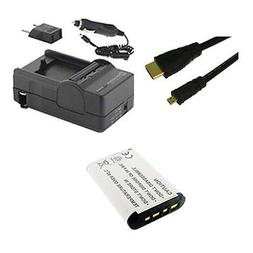 Sony HDR-CX440 Camcorder Accessories: Battery, Charger, HDMI