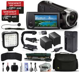 Sony HDR-CX440 Full HD Handycam Camcorder Video Camera + 128