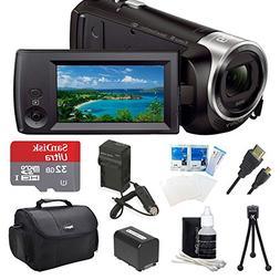 Sony HDR-CX440 HDR-CX440/B CX440 Full HD 60p Camcorder - Bla