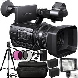 Sony HXR-NX100 HD NXCAM Camcorder 13PC Bundle. Includes 2 Re